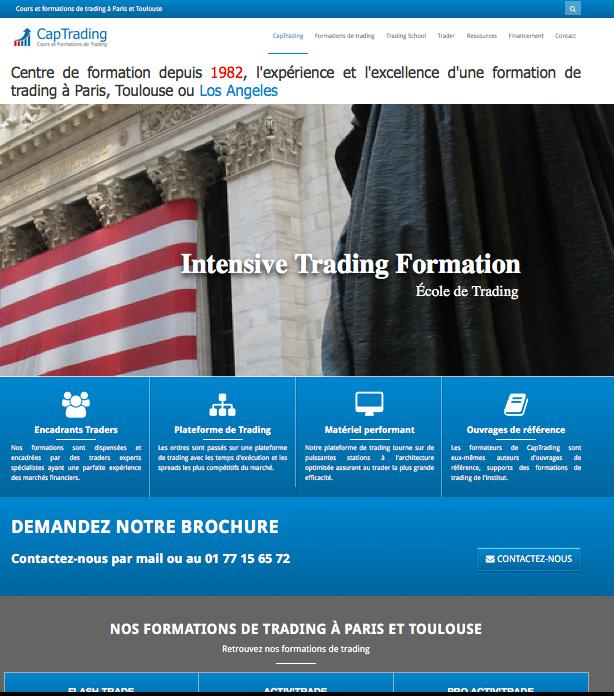 Formation trading lyon